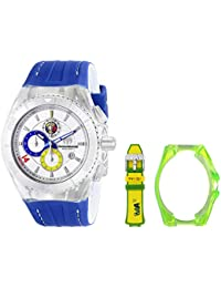 Technomarine Brazil Cruise Tribute to Soccer Chronograph Stainless Steel Mens Watch Silver Dial 114023C