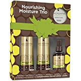 Macadamia Nourishing Moisture Trio with Candle - champues (Unisex, Profesional, Champú, Hidratante, Nutrición, Protección, Reparación, Fortalecimiento, Apply to wet hair and scalp and gently massage into a lather. Rinse thoroughly. For optimal results,)
