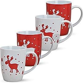 Set di tazze natalizie Dolomite KitchenCraft 5257423