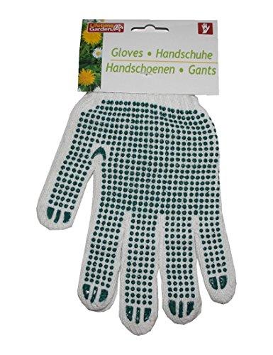 Gartenhandschuhe mit Noppen Handschuhe Gr.8 grün (0193)