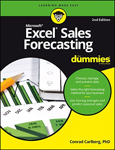 Microsoft Excel Sales Forecasting For Dummies, 2ed