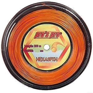 Pro Tennissaite Hexaspin 200m für Topspin 1.25mm