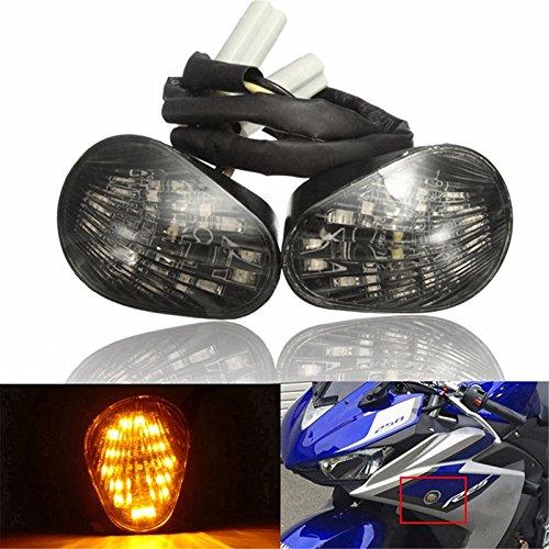 Alamor Motorrad Led Running Blinker Leuchte Halterung Für Yamaha Yzf R6 2008-2016