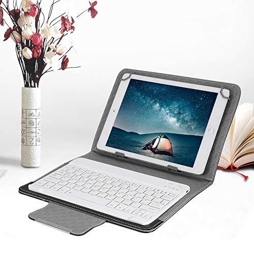 tastiera per tablet 10 pollici ASHATA Tastiera Bluetooth con Cover Protettiva