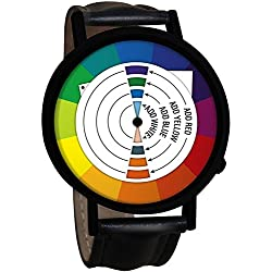 Official Funky Retro Colour Wheel Wristwatch - Boxed