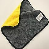 CAR SHUN Asciugamano Per Autolavaggio Asciugamano Per Lavaggio Auto Ad Alta Densità In Spugna Assorbente Spessa (10 Pezzi),30*30