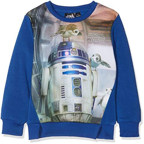 Star Wars Jungen VIII Han Solo T-Shirt, Blau (Blue 19-3952TC), 8 Jahre
