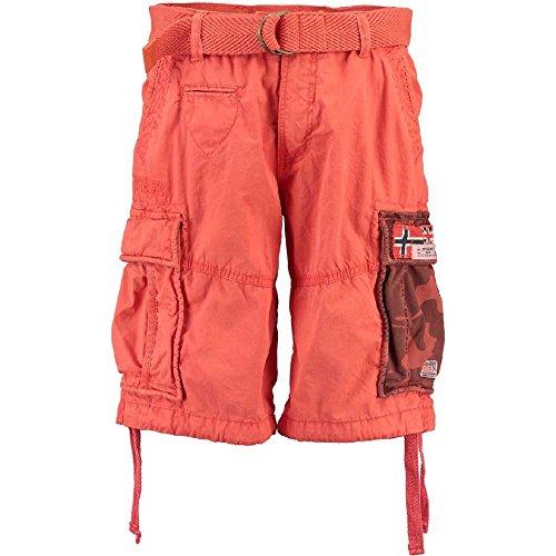 Geographical Norway paragone Hombre Cargo Pantalones Cortos Bermuda Verano Pantalones Cortos para Hombre...