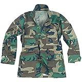 Mil-Tec BDU Combat Hemd Woodland Größe S