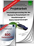 Technischer Betriebswirt TBW Projektarbeit + Präsentation Fuhrpark Hybrid +