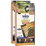 bosch Hundefutter Adult Lachs und Kartoffel, 1er Pack (1 x 15 kg)