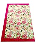 #10: My Mother's Lap Multi Color Floral Printed Single Bedding Quilt (1 Single Piece)