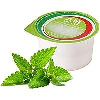 AM Gel Cup acquagel Menta con Edulcorante–Agua gelificata listo al uso 24tarros de 125g
