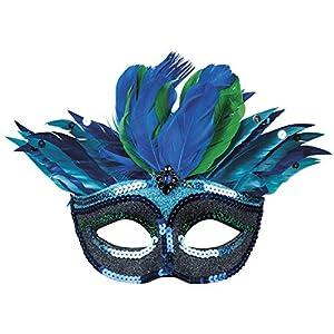 Boland 00222 Venice - Máscara para Ojos, Color Azul