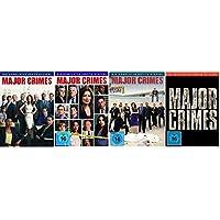 Major Crimes - Season / Staffel 1+2+3+4 (1-4) * DVD Set