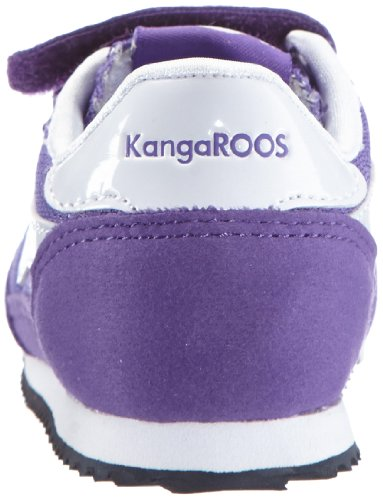 Kangaroos Baby H, Baskets mode mixte bébé Violet - Violett (violet/white)