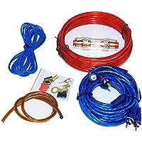 HTS MJ-8 Kit Altavoz profesional Cable RCA Amplificador de Instalación de Cableado para el coche 1500 watts max