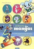 Image de Je dessine des mangas : 60 modèles de personnages de manga, mini-manga et mangamon !