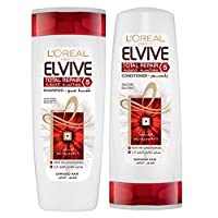 L'oreal Elvive Total Repair 5 Shampoo 400ml + Conditioner 400ml
