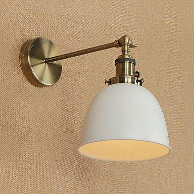 YYHAOGE Protection Des Yeux Pour Salle À Manger Simple Paroi Métallique Lumière 220V 220V 40W,Blanc,