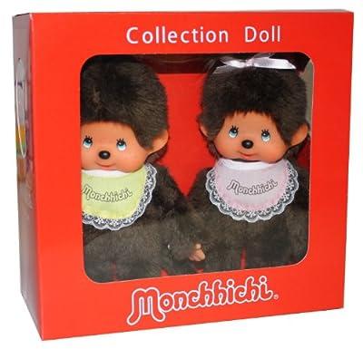 Monchhichi 251360 - Edición especial de 35 años, muñeco de chica y chico [importado de Alemania] por Sekiguchi