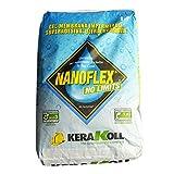 Gel membrana impermeabile per impermeabilizzazione 20Kg Art.14580 Nanoflex No Limits Kerakoll