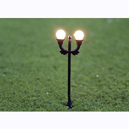 10pcs-1150-scale-n-gauge-model-lamppost-light-up-for-courtyard-layout