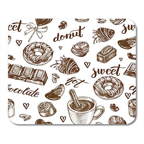 Cojín ratón Patrón postre Surtido Caramelos chocolate