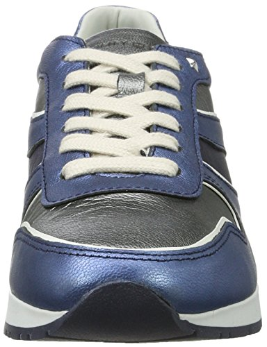 Tommy Hilfiger I1285zzy 1c2, Sneakers Basses Femme Bleu (Midnight - Dark Silver - Jeans)