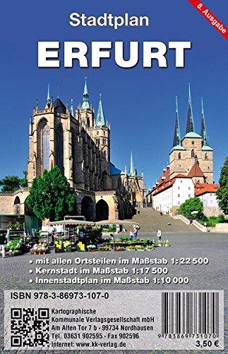 Erfurt: Stadtplan