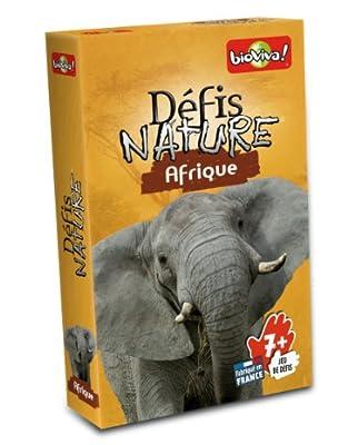 Bioviva - 0101003114 - Jeu De Cartes - Défis Nature Afrique