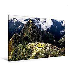Premium Textil-Leinwand 120 cm x 80 cm quer, Machu Picchu | Wandbild, Bild auf Keilrahmen, Fertigbild auf echter Leinwand, Leinwanddruck: Peru - Im Land des Kondors (CALVENDO Orte)