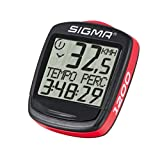 Sigma Elektro 01950 - Cuentakilómetros de ciclismo