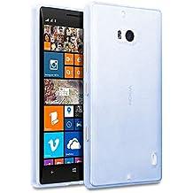 TBOC® Funda de Gel TPU Azul Claro para Nokia Lumia 930 de Silicona Ultrafina y Flexible