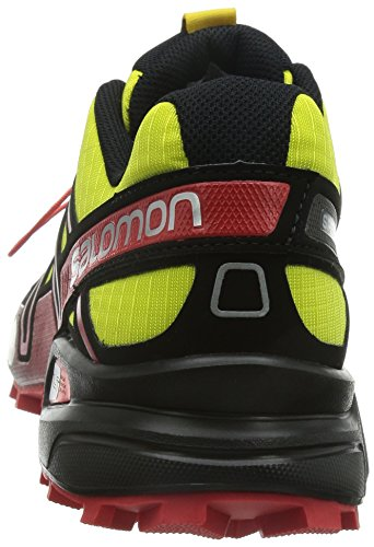 SalomonSpeedcross 3 - Scarpe Running uomo Amarillo (Corona Yellow / Black / Radiant Red)