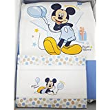 Colcha cuna Disney Mickey de guardería con cuna y Lenzuolino
