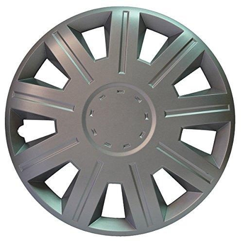 Sakura VICTORY - Cerchioni da 33 cm in metallo argentato, 4 pezz