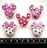 Disney Minnie Strass Têtes fantaisie Décorations Craft Boutons et en robe IT Up
