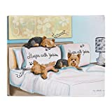 Best Yorkie Beds - CafePress - Sleeps With Yorkies - Soft Fleece Review