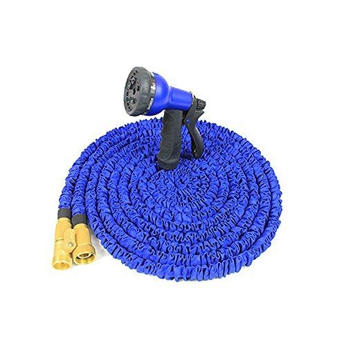 Garten Brause ,Multifunktions-Hochdruck-Schaum Wasserspray Pistole Haus Garten Rasen Pet Wash Auto Portable teleskopischen Hochdruck Haushalt Pinsel Auto-Tools Wasch-Wasser-Pistole 5 Meter Expandable No Kink Garden Schlauch Pipe