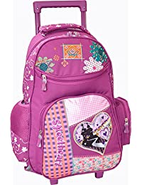 Bagages-madisson - Sac a dos Trolley Madisson Patchwork - Violet