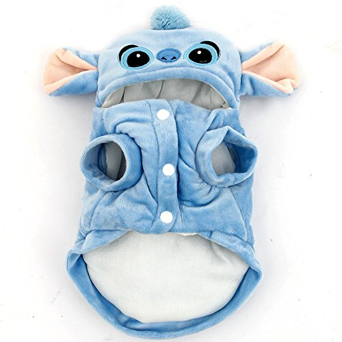 PAWZ Road Pet Dog Clothes Cartoon Stitch Cosplay