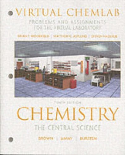 Virtual ChemLab: General Chemistry, Student Workbook / Lab Manual by Brian F Woodfield (2005-04-01) -