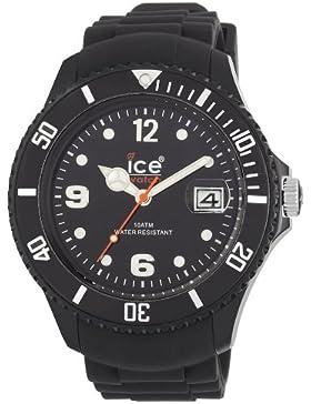 Ice-Watch Unisex-Armbanduhr Sili Forever Schwarz Big Big SI.BK.BB.S.11