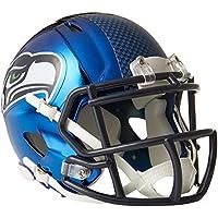 Riddell Mini Football Helm - NFL Chrome Seattle Seahawks