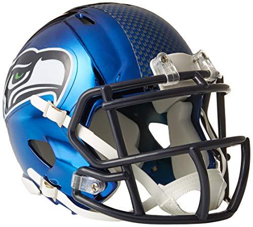 Riddell Mini Football Helm - NFL Chrome Seattle Seahawks -