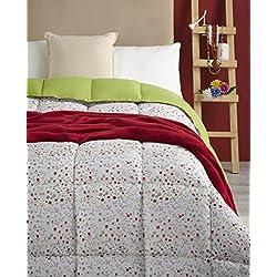 Atenas Nórdico Duvet Malmo florecita/liso, 300gr/m2 cama individual 90cm largo duvet