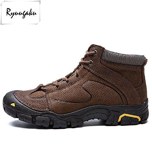 Chaussures Imperméables Et Trekking Pour Hommes Ryuugaku Venture Brown