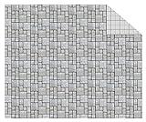 Ursus 11404608 Fotokarton Modellbau, 300 g/qm, 10 Blatt, DIN A4, Pflastersteine