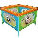 Reisebett Kinderbett Klappbett Farb- und Musterwahl inkl. Matratze, Tasche & Spielringe - 2